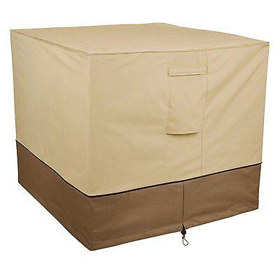 Classic Accessories Veranda Air Conditioner Cover, Square,