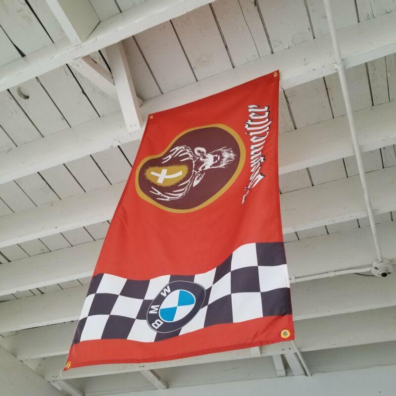 BMW E30 M3 DTM Jagermeister Edition Garage Banner 3.0 CSL 3.6 CSL 2002 E36 Flag