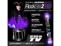 FIRESTIX Purple Haze ❙ LED Drumsticks ❘ Leucht-Drumsticks ❘ Lila