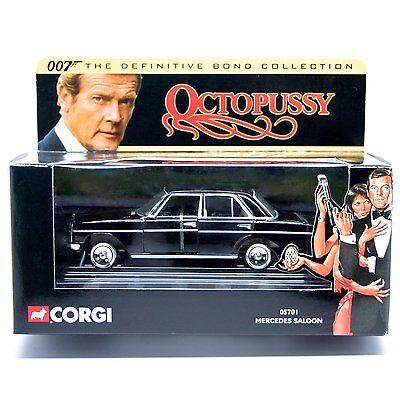 """Corgi 1/43  JAMES BOND 007 MERCEDES SALOON """"OCTOPUSSY"""""""