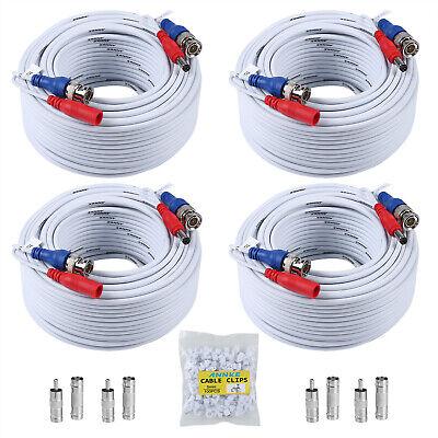 Video Power Bnc Kabel (ANNKE 4X 100FT BNC DC Videokabel Sicherheit Power Kabel Überwachungskamera 30m)