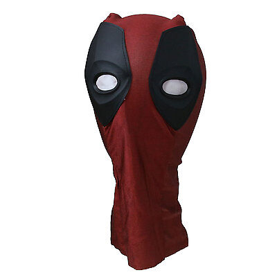 3D Deadpool Cosplay Costume Mask Adult Halloween Party Accessory
