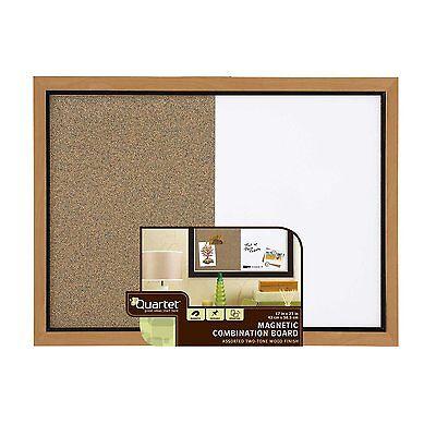 Quartet Home Decor Combination Board 17 X 23 Inches Dry-erasecork Oak