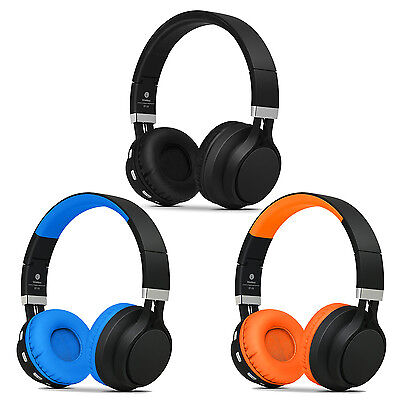 Over Ear Foldable Wireless Bluetooth Headphones Mic For I...