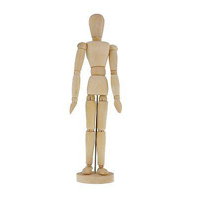 "US Art Supply 8"" Female Manikin Wooden Art Mannequin Figure"