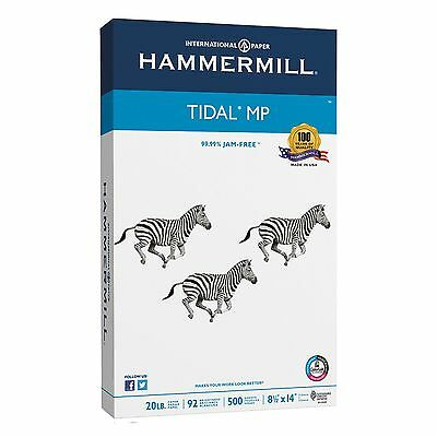 Hammermill Tidal MP Copy Paper Legal Size 92 Bright 8-1/2 x 14 White 500-Ct Ream