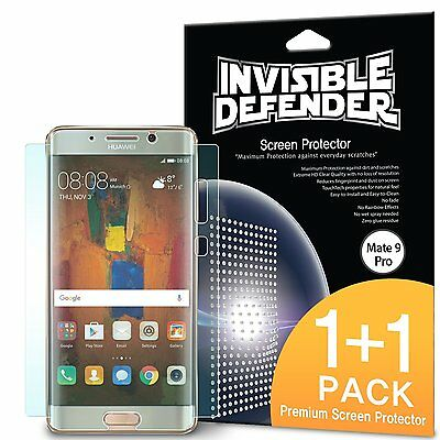 Huawei Mate 9 Pro Screen Protector | Ringke Invisible Defender Full Coverage 2pc](huawei mate 9 deals)
