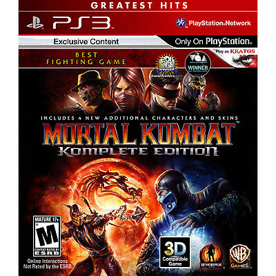 Купить Mortal Kombat Komplete Edition PS3 [Brand New]