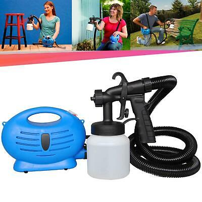 Electric Paint Sprayer (ELECTRIC PAINT SPRAYER SYSTEM ZOOM SPRAY GUN PAINTING FENCE BRICKS OUTDOORS NEW)