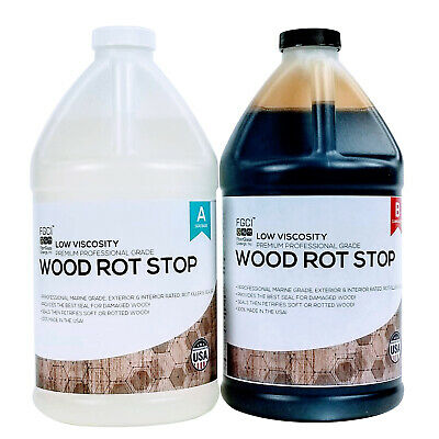 Fgci Rot Stop Epoxy Resin 1 Gallon Kit Includes Part A B 137649