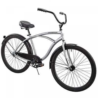 CRUISER BICYCLE Commuter 26 Inch Mens Beach White Comfort Bike Speed Man Beach Cruiser