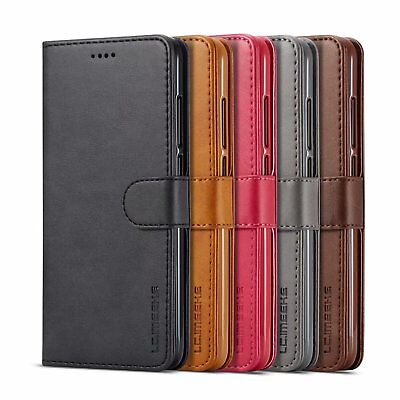 Leather Stand - Magnetic Flip Leather Stand Cover Wallet Case For Apple Iphone XS / XR / XS MAX