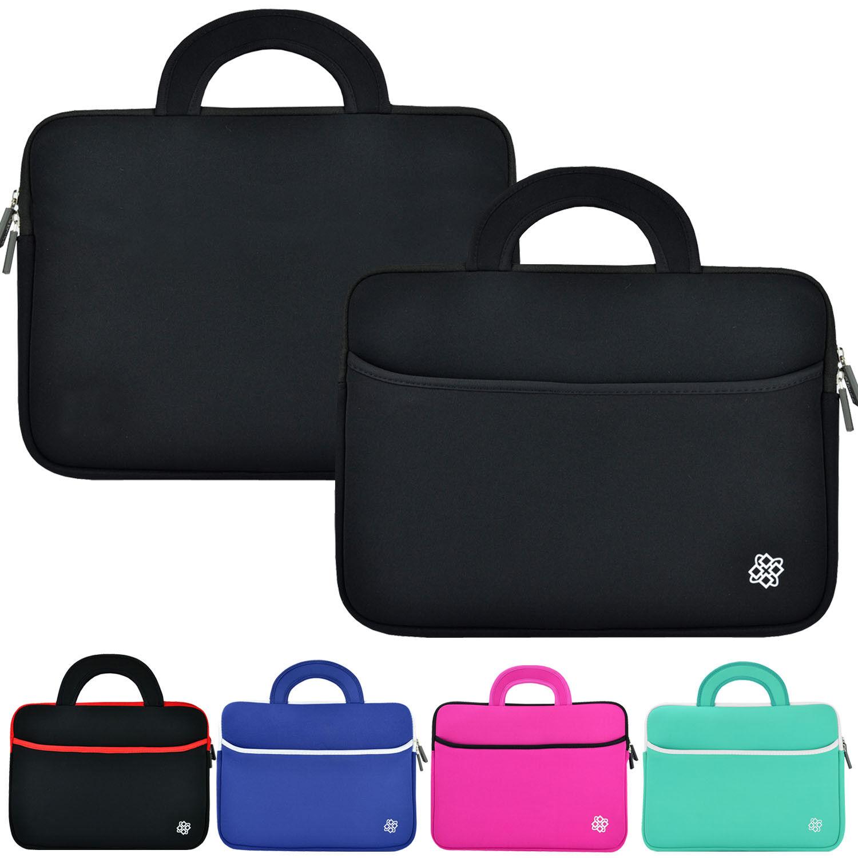 """Slim Neoprene Laptop Sleeve Case Carry Cover Bag for 11"""" 12"""" 13"""" 14"""" 15"""" Laptop"""