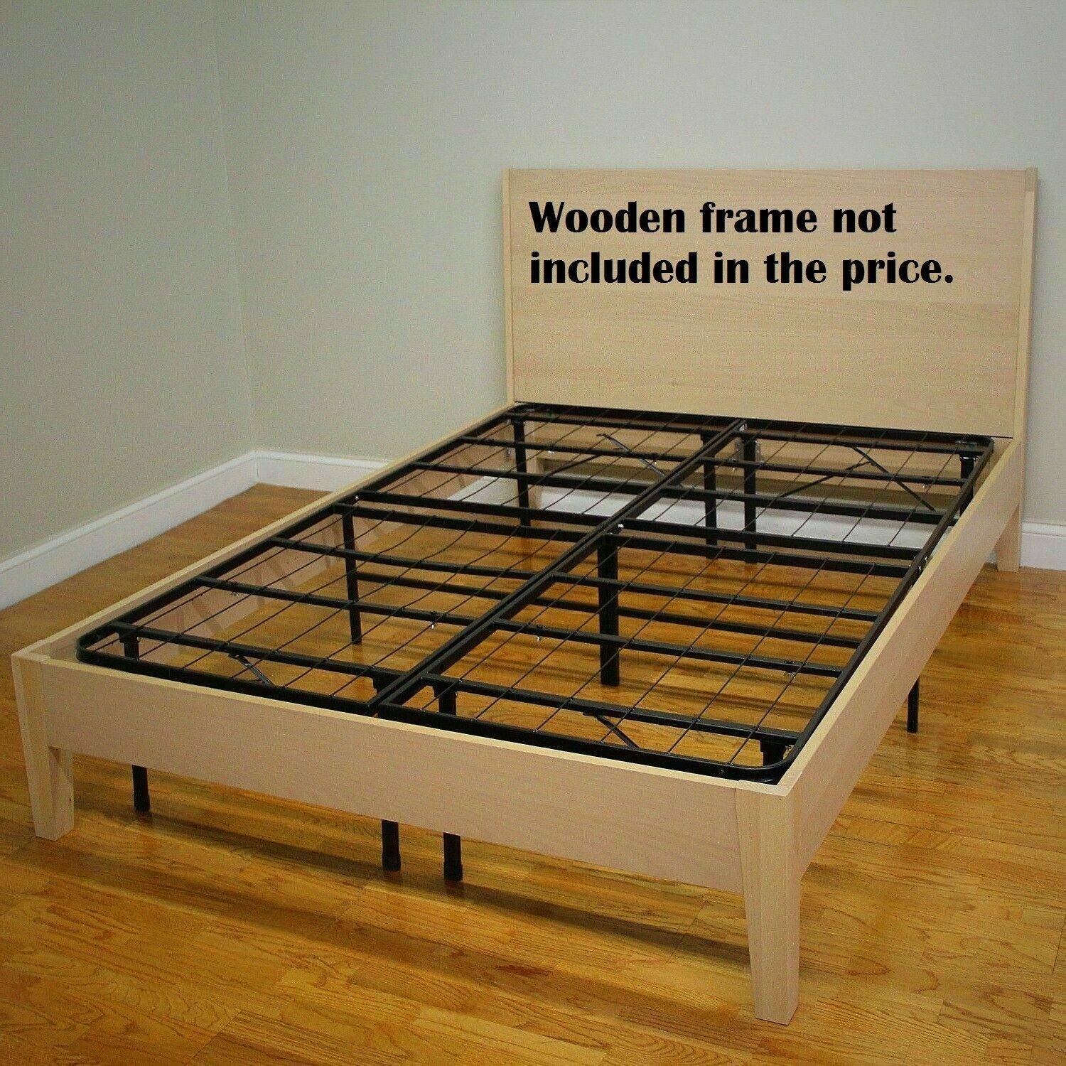 Mattress Bed Frame Base Box Spring Platform Foundation Twin