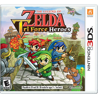 The Legend of Zelda: TriForce Heroes 3DS [Factory Refurbished]
