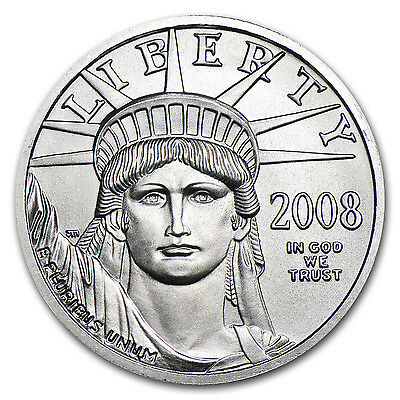1 4 Oz Platinum American Eagle Bu  Random Year    Sku  54