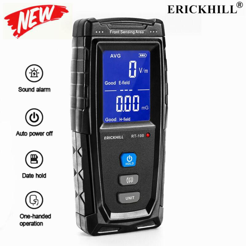 Digital LCD EMF Meter, Electromagnetic Field Radiation Detector 1V/m-1999V/m