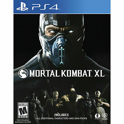 Mortal Kombat XL PS4 PlayStation 4 Brand New Sealed