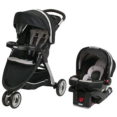 Graco FastAction Fold Sport Travel System | Includes the Fold...