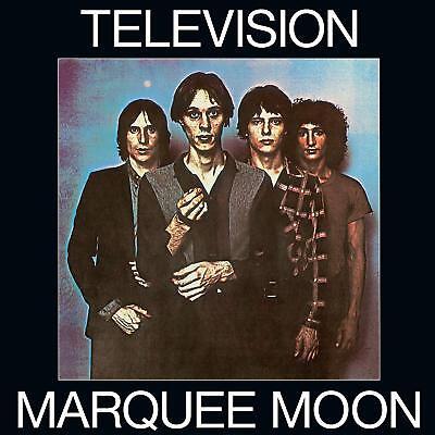 TELEVISION MARQUEE MOON (DELUXE AUDIO) 2 X BLUE VINYL LP (PRE-Release 5/10/2018)
