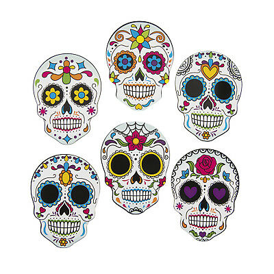Halloween DAY OF THE DEAD Dia de Los Muertos SUGAR SKULL CUTOUT Party Decoration - Halloween Party Day