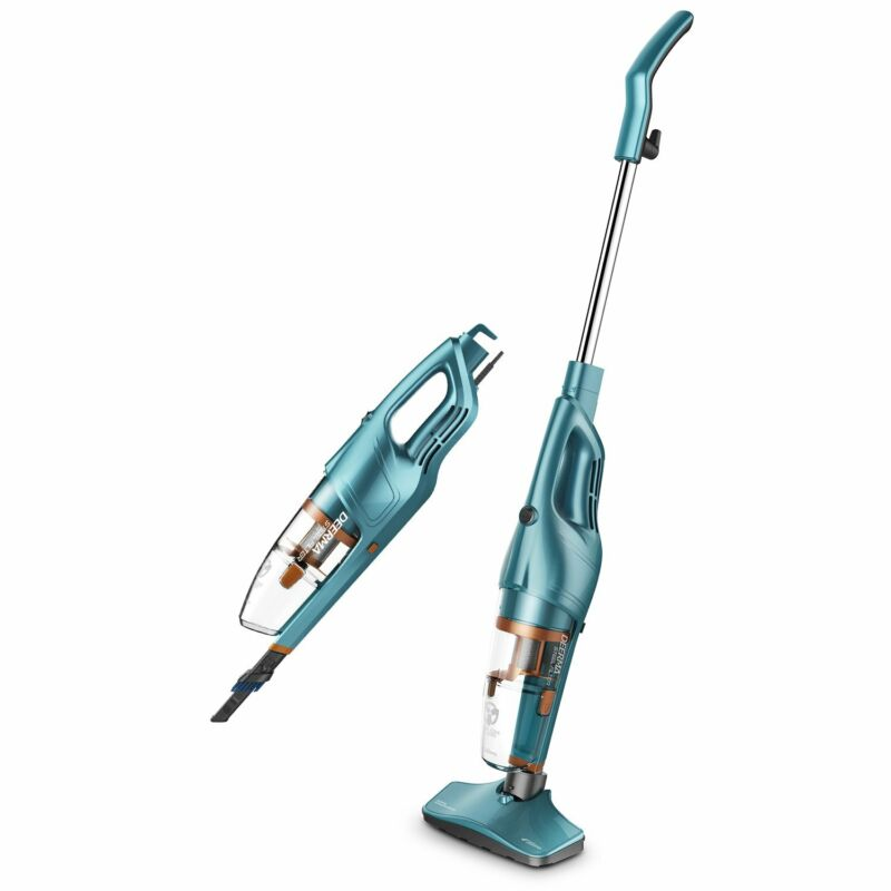 DEERMA 2 in 1 Vacuum Cleaner Lightweight Corded Upright Stick and Handheld with