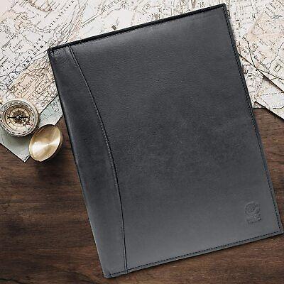 Leather Padfolio Resume Portfolio Folder Interviewlegal Document Organizer