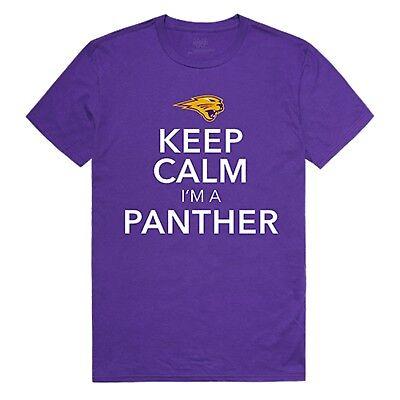 University of Northern Iowa Panrthers NCAA College Cotton Keep Calm Shirt S-2XL ()