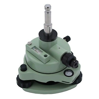 Swiss-style Green Tribrach Adapter With Optical Plummet Fits Prism Setup