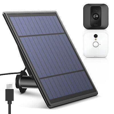 Blink XT Wall Mount Solar Power Panel Outdoor Security Camera Weatherproof USA Camera Outdoor Wall