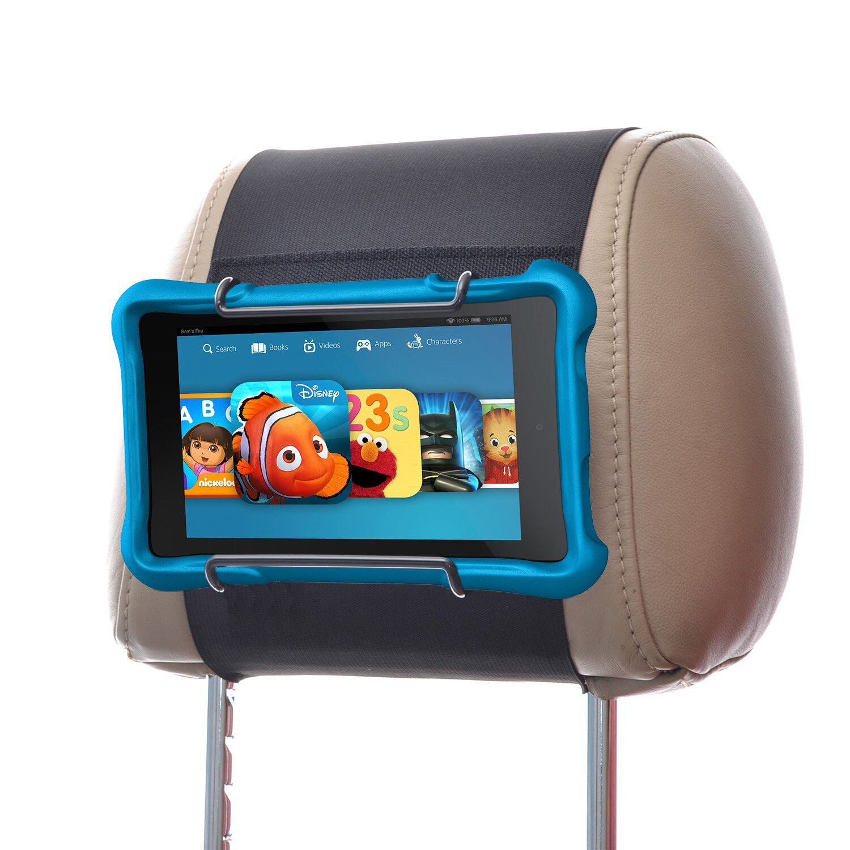 Hikig Car Headrest Mount Holder for all Kindle Fire - Kindle Fire 6, 7, 8, 9, 10