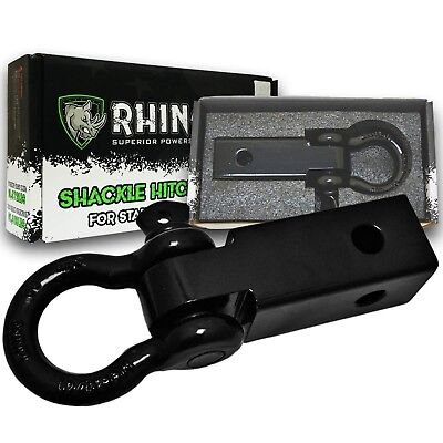 RHINO USA D-Ring Shackle Hitch Receiver
