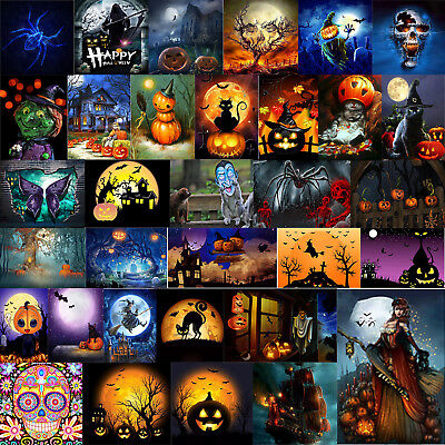 Halloween Theme Series 5D Diamond Painting DIY Craft Home Decor Kids Gifts Xmas