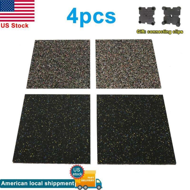 "Rubber Flooring Mats Equipment Rolls Speckle 0.98""-Thickness"