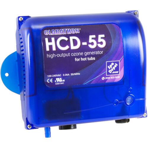 Clarathon HCD-55 Spa Ozonator Kit - Hi-Output Hot Tub Ozone Generator 120V/240V