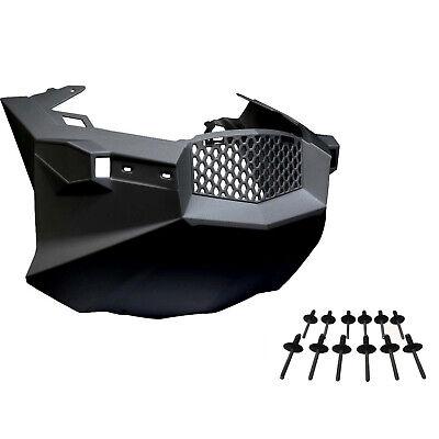 Ski-Doo New OEM Black Front Bottom Nose Cone Pan and (12) Rivet Kit REV-XP