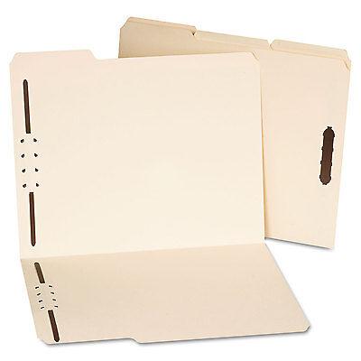 Universal Deluxe Reinforced Top Tab Folders 2 Fasteners 13 Tab Letter Manila 50