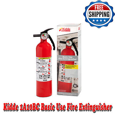 Fire Extinguisher Home Car Auto Garage Kitchen Dry Chemical Emergency 2.5 Lb