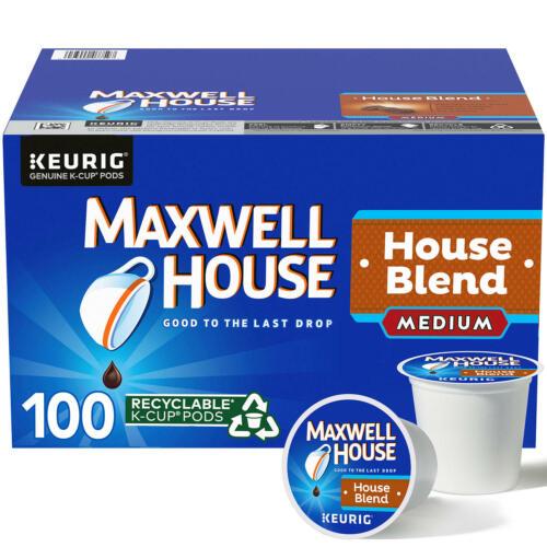 Maxwell House Medium Roast House Blend Coffee K-Cups (31 oz., 100 ct.) FREE SHIP