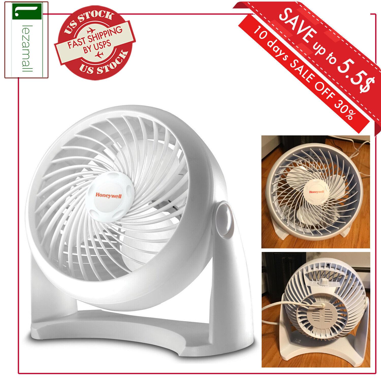 White Honeywell Kaz HT-904 Tabletop Air-Circulator Fan