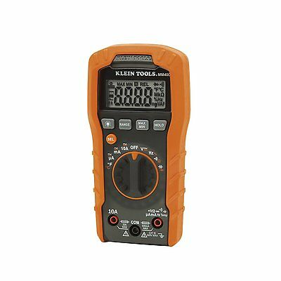 New Klein Tools - Mm400 - Digital Multimeter Auto-ranging 400a