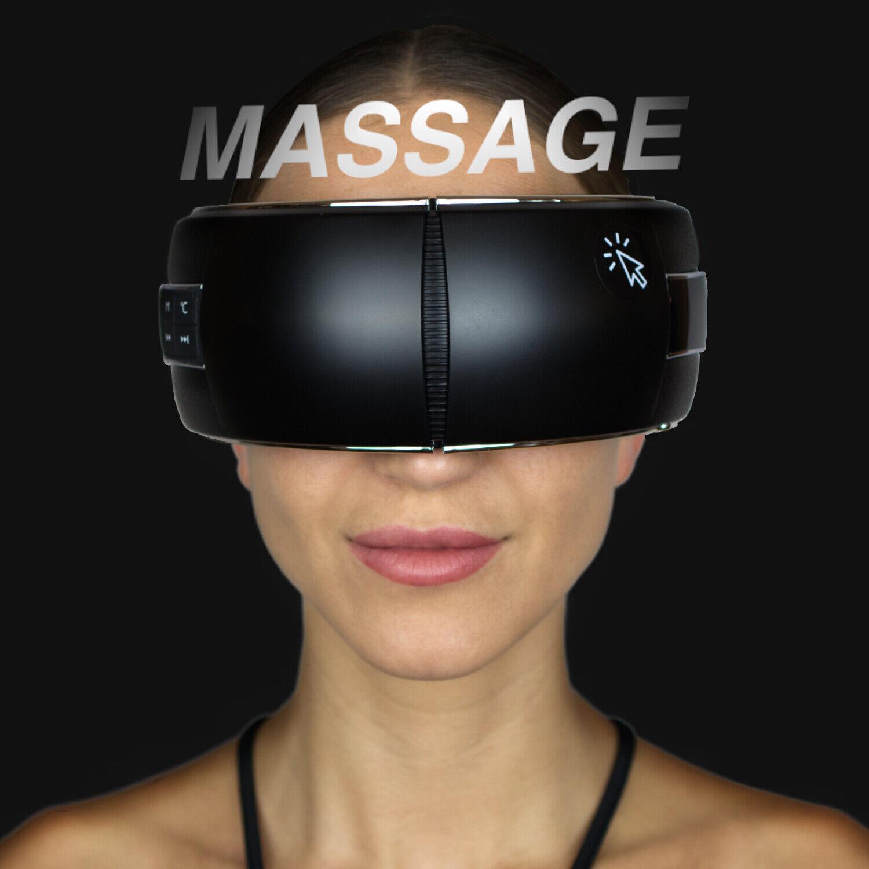 Augenmassagegerät mit Luftkompression, Wärme, Vibration, Blutooth und Musik *NEU