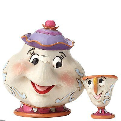 Disney Traditions A Mothers Love (Mrs Potts & Chip) Figurine NEW  26075