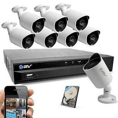 Best Vision Systems 16CH 1TB HDD 1080P DVR Security Surveillance System with