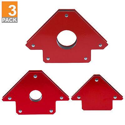 3 Pk Arrow Welding Magnets Holder 25 50 75 Lb Strength 25 50 75lb