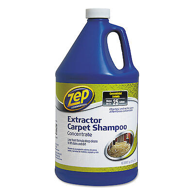 Zep Commercial Carpet Extractor Shampoo 1 gal Bottle 1041690