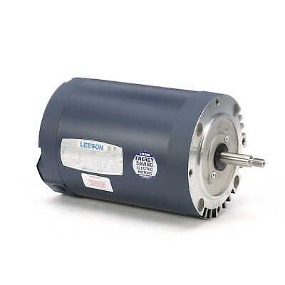 Leeson Electric Motor 113892.00 2 Hp 3450 Rpm 3ph 208-230460 Volt 56j Frame