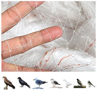 4 Pack 7x20ft Bird Netting Anti Bird Protection Net For Fruit Vegetables Flower