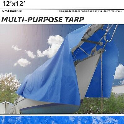 Green NEW Stansport PDQ Pack Rip Stop Tarp 6/' x 8/' FREE2DAYSHIP TAXFREE
