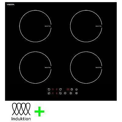 VIESTA I hochwertiges 4 Zonen Induktionskochfeld Induktionsherd Induktion Platte